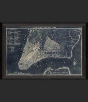 BC New York Map1789 Blue