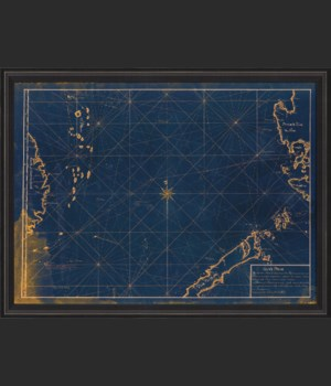 BCBL South China Sea Map 1770 Blue