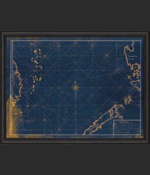 BCBL South China Sea Map 1770 Blue