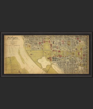 BCBL Washington DC Map 1917