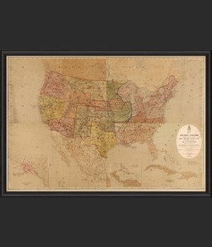 BCBL United States Map with Mililtary Posts