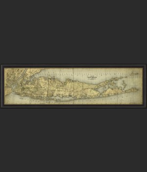 BCBL Map of Long Island 24x60
