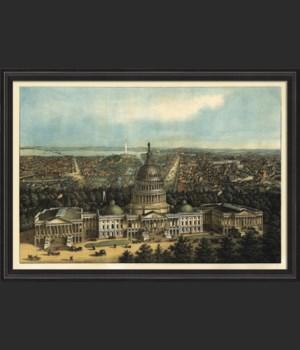 BCBL Washington DC in 1871 40x28