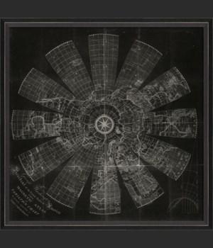 BC Magnetic Atlas Map on Black