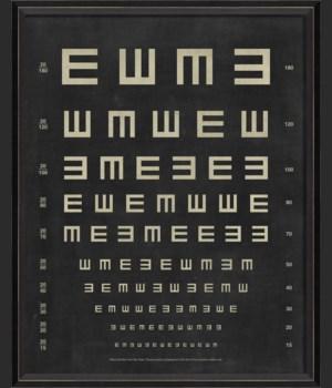 BC Eye Chart - Tumbling E