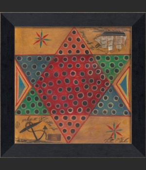 MI Chinese Checkers Game Board
