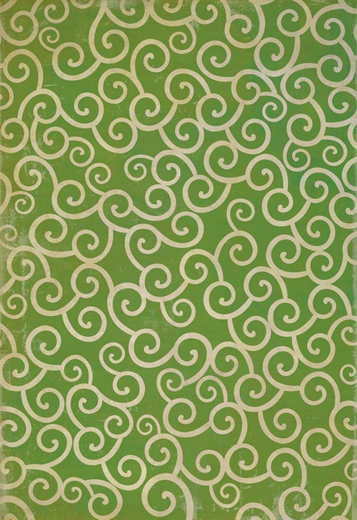 Pattern 04 The Sea of Green 96x140