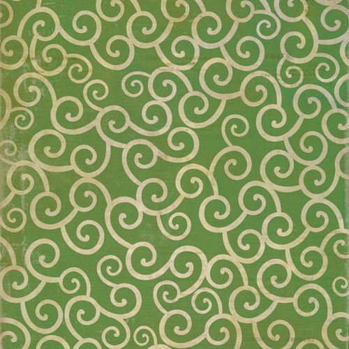 Pattern 04 The Sea of Green 120x120