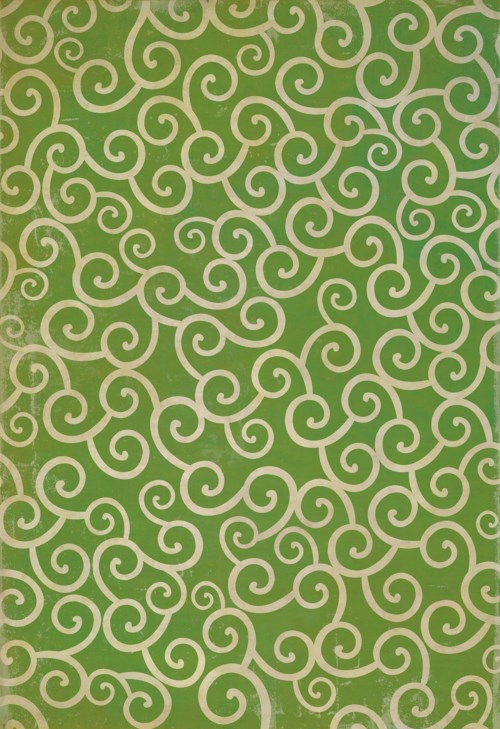 Pattern 04 The Sea of Green 120x175