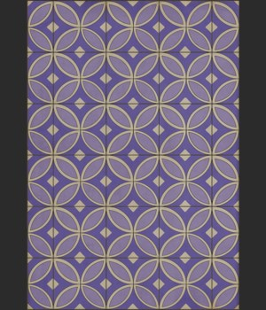 Pattern 70 Waltzing with Violets in Our Hair 70x102