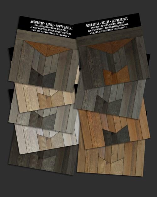 Swatch Set Norwegian Wood Native