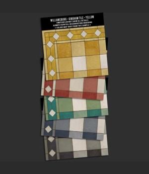 Swatch Set WILLIAMSBURG Gingham Tile
