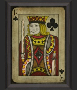 BC King of Clubs with border