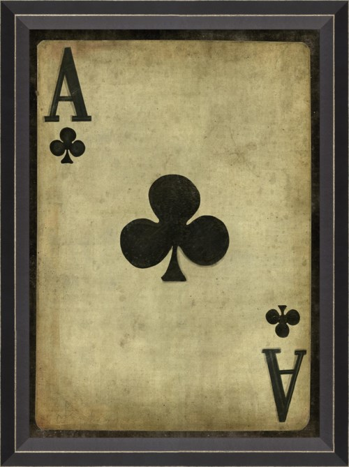 BC Ace of Clubs with border