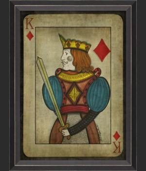 BC King of Diamonds with border