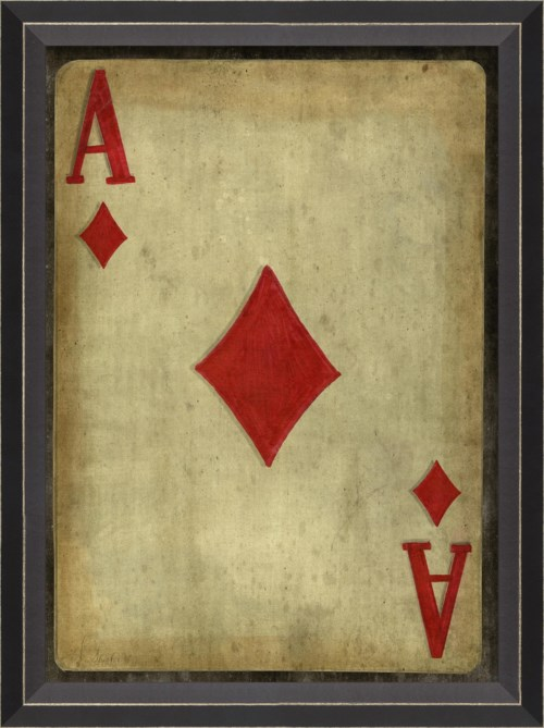 BC Ace of Diamonds with border