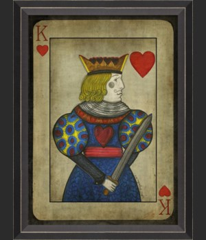 BC King of Hearts with border
