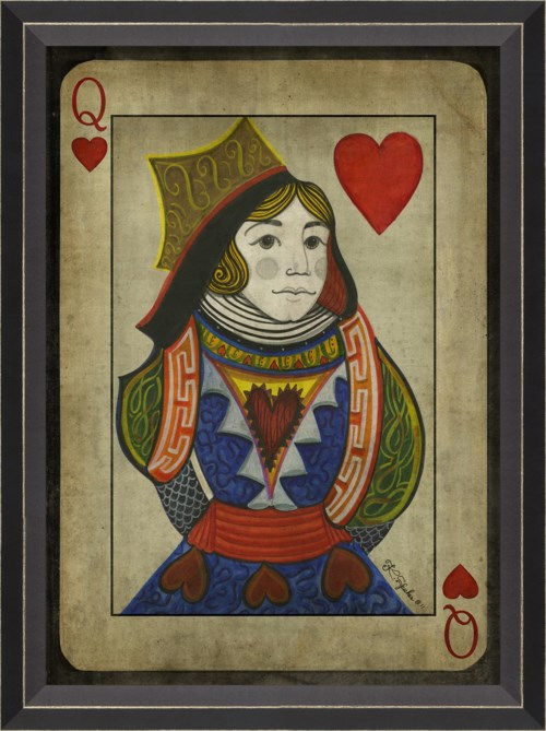 BC Queen of Hearts with border