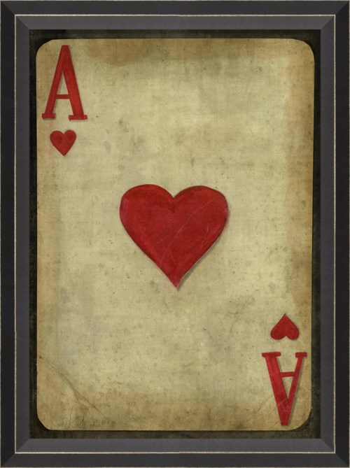 BC Ace of Hearts with border