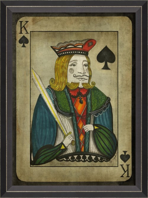 BC King of Spades with border