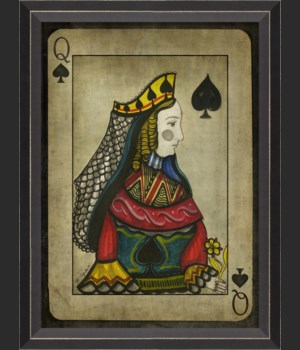 BC Queen of Spades with border