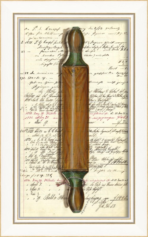 KI Wooden with Green