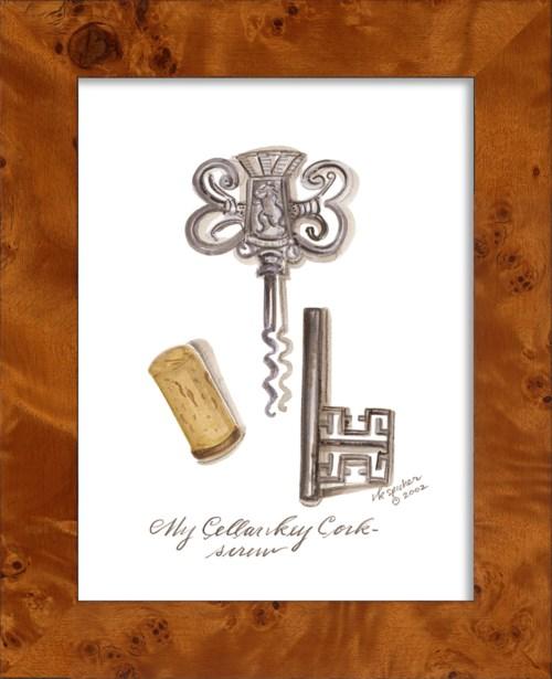 NA CellarKey Cork Screw
