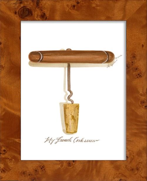 NA French Cork Screw