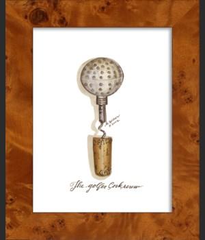 NA Golfer Cork Screw