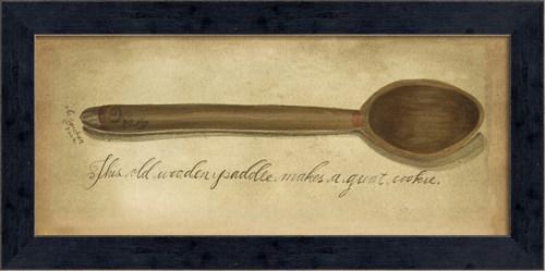MI Vintage Wooden Paddle
