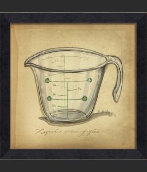 MI Vintage Measuring Glass