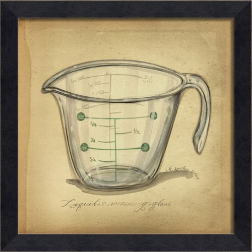 MI Vintage Measuring Glass