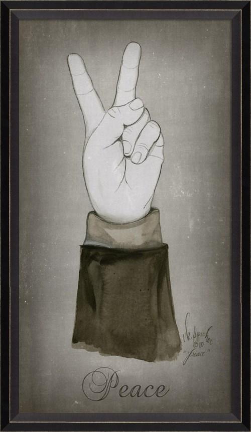 BC Peace – man's hand