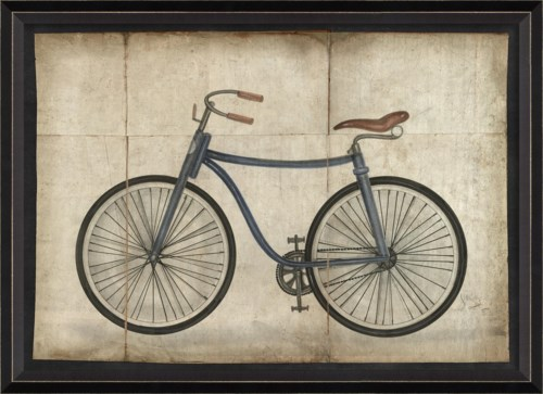 BC Blue Bicycle