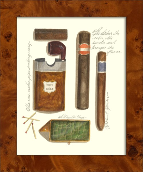 NA Pipe With Cigars