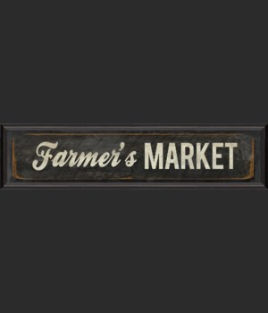 BC Farmers Market Sign