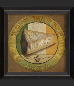 BC Aged Marble Cheese Label