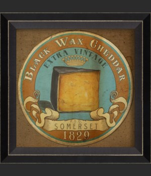 BC Black Wax Cheddar Label