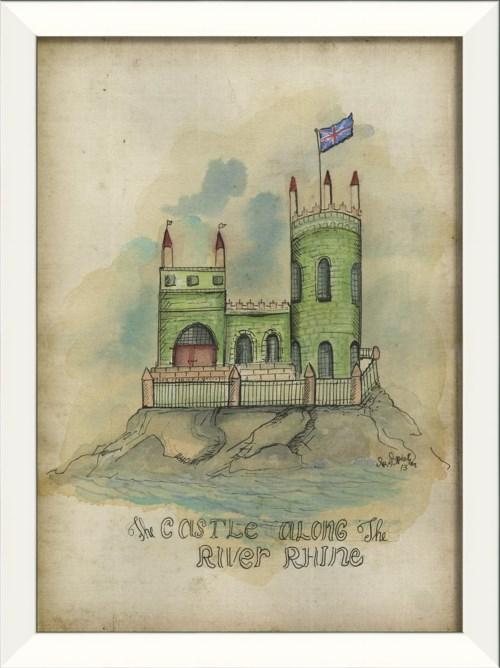LN The Castle Along the River Rhine