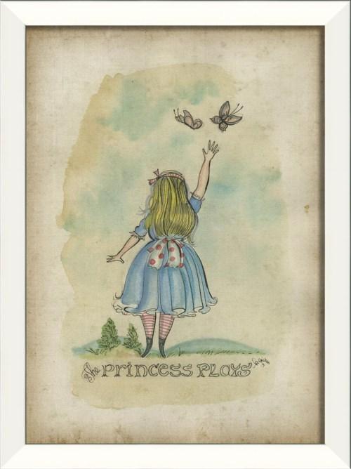 LN The Princess Plays