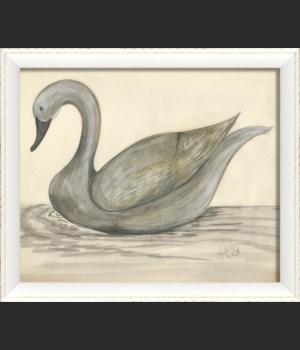 WC the beautiful swan