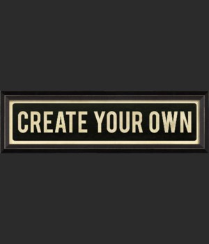 BC CREATE YOUR OWN (customized)