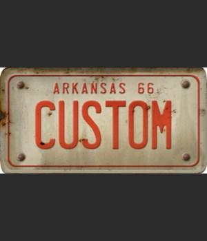 Arkansas License Plate Custom