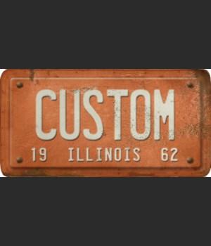 Illinois License Plate Custom