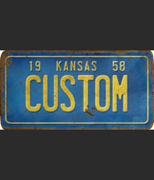 Kansas License Plate Custom