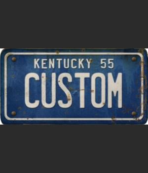 Kentucky License Plate Custom