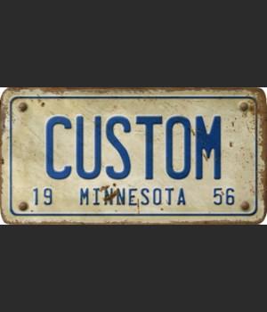 Minnesota License Plate Custom