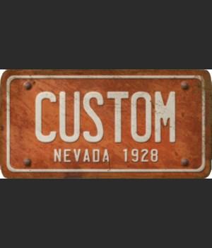 Nevada License Plate Custom