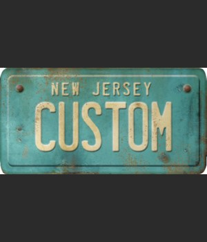 New Jersey License Plate Custom