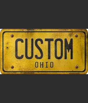 Ohio License Plate Custom